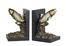 CAL Lighting TA-677BD - TROUT BOOKENDS