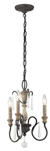 Kichler 43616WZC - Mini Chandelier 3Lt