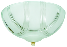 Craftmade LKE51CFL - 2 Light Elegance Bowl Fan Light Kit with Clear Arch Frost Glass