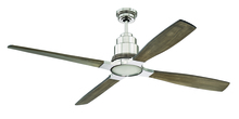 "Craftmade RIC60PLN - Ricasso 60"" Ceiling Fan in Polished Nickel (Blades Sold Separately)"