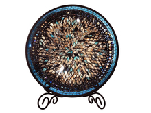 Dale Tiffany AV15431 - Blue Moon Charger Plate