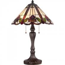 Quoizel TF1425TWT - Tiffany Table Lamp