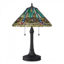 Quoizel TF1508TVB - Tiffany Table Lamp