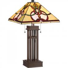 Quoizel TF1913TRS - Tiffany Table Lamp