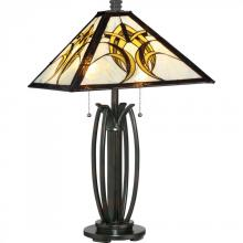Quoizel TF1917TVA - Tiffany Table Lamp