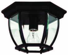 Kenroy Home 16277BL - Dural 1 Light Flush Mount