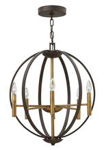 Hinkley 3466SB - CHANDELIER EUCLID
