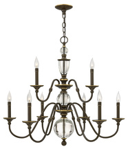 Hinkley 4958LZ - CHANDELIER ELEANOR