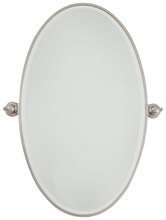 Minka-Lavery 1432-84 - Xl Oval Mirror - Beveled