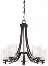 Minka-Lavery 4105-172 - 5 Light Chandelier