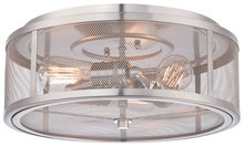 Minka-Lavery 4133-84 - 3 Light Flush Mount
