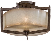Minka-Lavery 4397-573 - 3 Light Semi Flush Mount