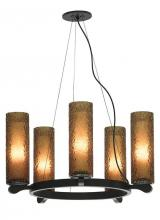 LBL Lighting SU6235AMSC2G - Rock Candy 5-Lite Chndlr AM SN