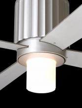 Modern Fan Co. 750-TN - Flute Light Kit; 75W G9 Halogen; Textured Nickel/Opal Glass