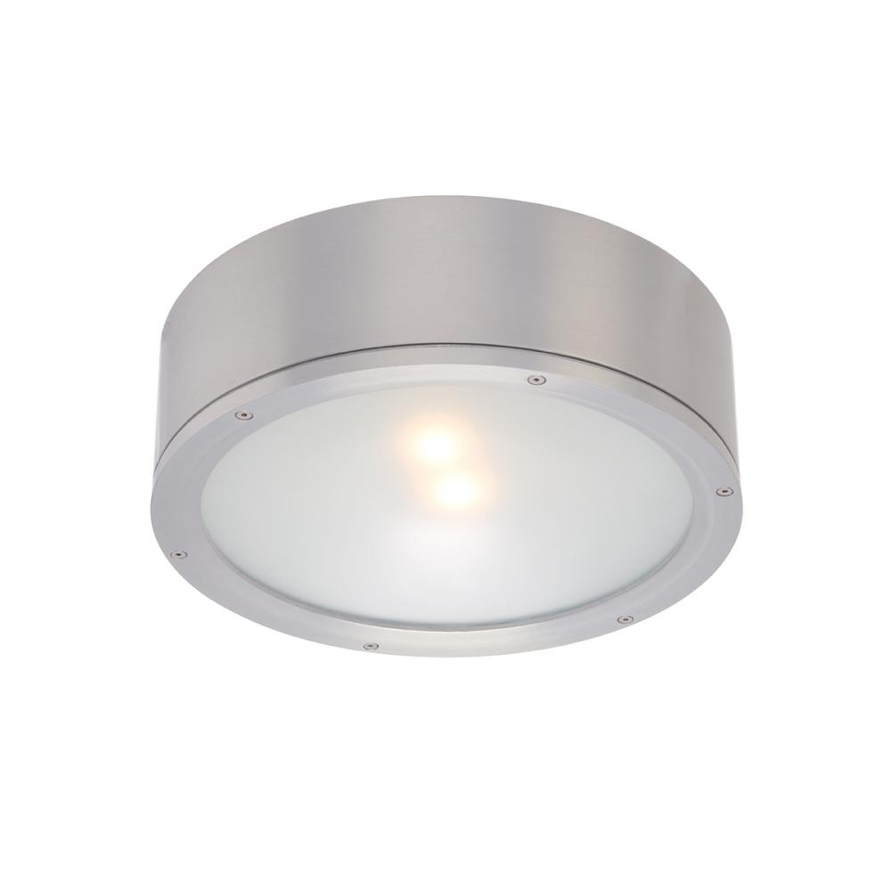 "Berkeley Lighting Company in Berkeley, California, United States, WAC US FM-W2612-AL, TUBE - 12"" ROUND INDOOR/OUTDOOR CEILING,"