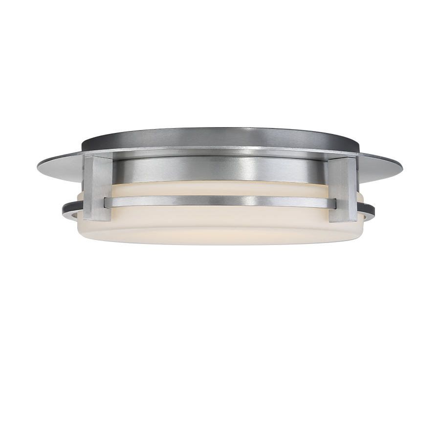 COMPASS 16IN OUTDOOR FLUSH MOUNT 3000K