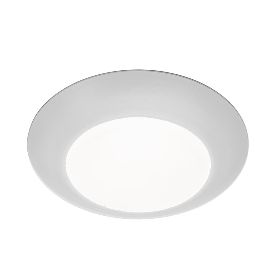 Berkeley Lighting Company in Berkeley, California, United States, WAC US FM-304-930-WT, DISC LED FLUSH MOUNT-4IN 12W 3000K,