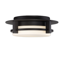 WAC US FM-W33612-BZ - COMPASS 12IN DWELED OUTDOOR FLUSH MOUNT