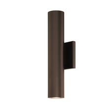 WAC US WS-W36614-BZ - CALIBER 14IN OUTDOOR SCONCE 3000K