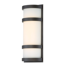 WAC US WS-W52614-BZ - LATITUDE 14IN OUTDOOR SCONCE 3000K