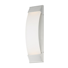 WAC US WS-W29718-AL - PANORAMA 18IN OUTDOOR SCONCE 3000K