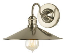 Stone Lighting WS227SNRT6B - Wall Sconce Dim Sum Satin Nickel Medium Base Retro Bulb 60W
