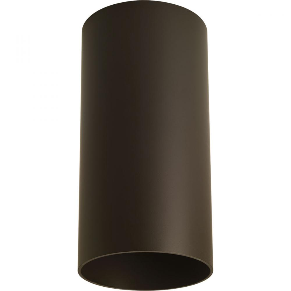 Berkeley Lighting Company in Berkeley, California, United States,  1D6PU, One Light Antique Bronze Metal Shade Outdoor Flush Mount, Cylinder