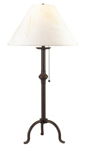 CAL Lighting BO-903TB - 75W IRON TABLE LAMP W/PULL CHAIN
