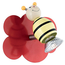Eglo 88397A - 1x50W Childrens  Wall Light w/ Bee Design