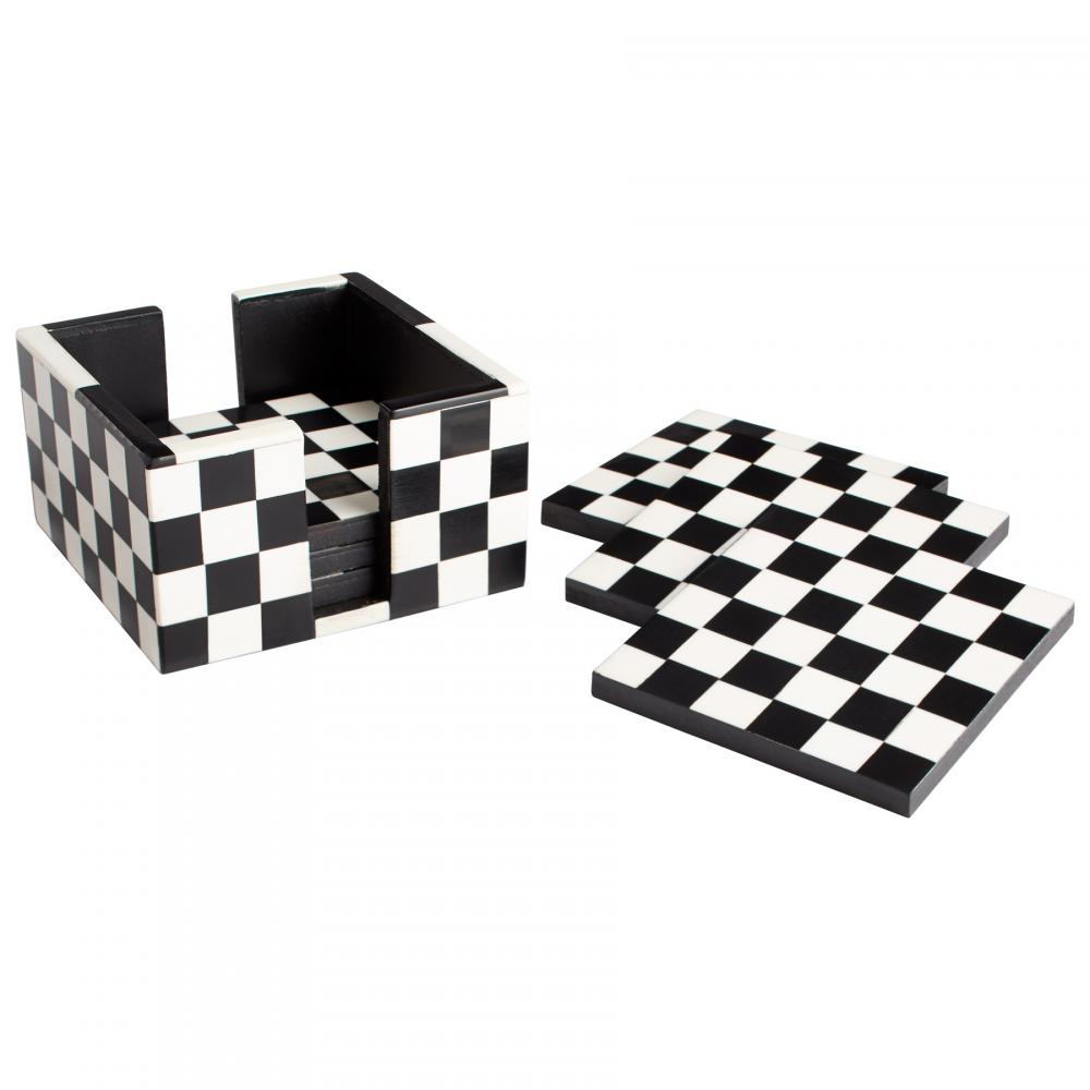 Berkeley Lighting Company in Berkeley, California, United States, Cyan Designs 08005, Check Mate Coasters,