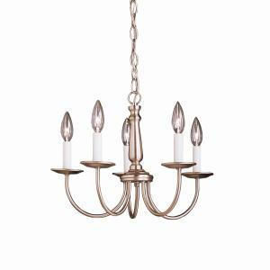 Berkeley Lighting Company in Berkeley, California, United States,  9XUVY, Mini Chandelier 5Lt, Salem