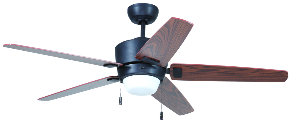 "Atara 52"" Ceiling Fan with Blades and Light in Aged Bronze Brushed"