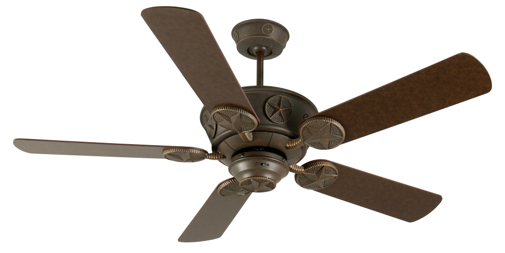"Chaparral 52"" Ceiling Fan Kit in Aged Bronze Textured"