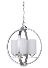 Craftmade 39744-CH - Albany 4 Light Foyer in Chrome