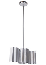 Craftmade 42091-CH - Sircle 1 Light Mini Pendant in Chrome
