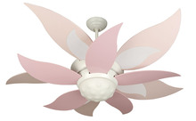 "Craftmade K10368 - Bloom 52"" Ceiling Fan Kit in White"