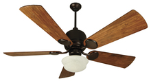 "Craftmade K10516 - Kona Bay 52"" Ceiling Fan Kit with Light Kit in Oiled Bronze"
