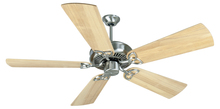 "Craftmade K10983 - CXL 52"" Ceiling Fan Kit in Stainless Steel"