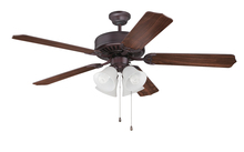 "Craftmade K11077 - Pro Builder 203 52"" Ceiling Fan Kit with Light Kit in Oiled Bronze"