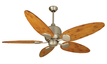 "Craftmade K11160 - Kona Bay 52"" Ceiling Fan Kit in Brushed Satin Nickel"