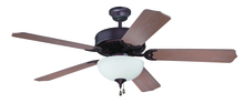 "Craftmade K11199 - Pro Builder 201 52"" Ceiling Fan Kit with Light Kit in Oiled Bronze"