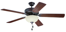 "Craftmade K11201 - Pro Builder 202 52"" Ceiling Fan Kit with Light Kit in Aged Bronze Brushed"