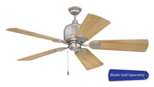 "Craftmade K52BN - Kona Bay 52"" Ceiling Fan in Brushed Satin Nickel (Blades Sold Separately)"