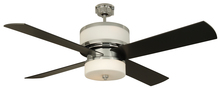"Craftmade MO56CH4 - Midoro 56"" Ceiling Fan with Blades and Light in Chrome"