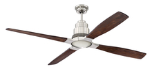 "Craftmade RIC60BNK - Ricasso 60"" Ceiling Fan in Brushed Polished Nickel (Blades Sold Separately)"