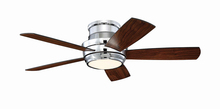 "Craftmade TMPH44CH5 - Tempo 44"" Hugger Ceiling Fan with Blades and LED Light Kit in Chrome"