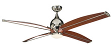"Craftmade TRD60PLN4 - 60"" Ceiling Fan w/Blades & LED Light Kit"