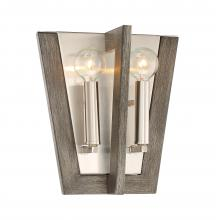 Designers Fountain 93702-SP - 2 Light Wall Sconce