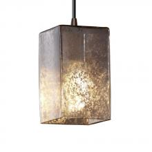Justice Design Group FSN-8816-15-DROP-ABRS - Small 1-Light Pendant