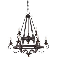 Quoizel NBE5009RK - Noble Foyer Piece